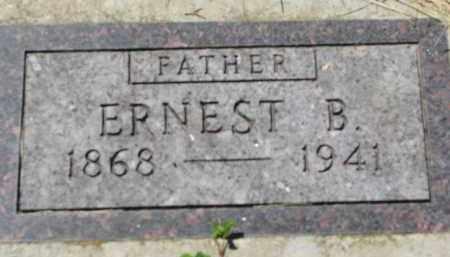 HANSEN, ERNEST B. - Cedar County, Nebraska | ERNEST B. HANSEN - Nebraska Gravestone Photos