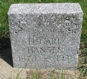 HANSEN, H. CARL - Cedar County, Nebraska | H. CARL HANSEN - Nebraska Gravestone Photos