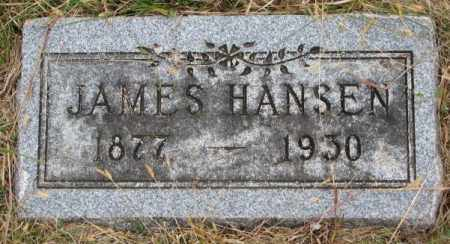 HANSEN, JAMES - Cedar County, Nebraska   JAMES HANSEN - Nebraska Gravestone Photos