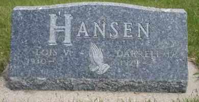 HANSEN, LOIS V - Cedar County, Nebraska   LOIS V HANSEN - Nebraska Gravestone Photos