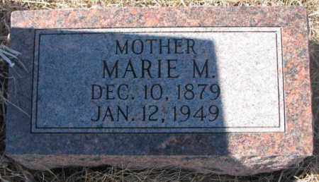HANSEN, MARIE M. - Cedar County, Nebraska   MARIE M. HANSEN - Nebraska Gravestone Photos