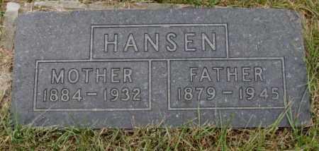 HANSEN, FATHER - Cedar County, Nebraska | FATHER HANSEN - Nebraska Gravestone Photos