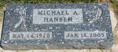 HANSEN, MICHAEL A. - Cedar County, Nebraska   MICHAEL A. HANSEN - Nebraska Gravestone Photos