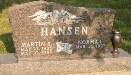 HANSEN, NORMA L - Cedar County, Nebraska | NORMA L HANSEN - Nebraska Gravestone Photos