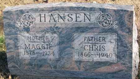 HANSEN, MAGGIE - Cedar County, Nebraska | MAGGIE HANSEN - Nebraska Gravestone Photos