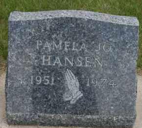 HANSEN, PAMELA JO - Cedar County, Nebraska | PAMELA JO HANSEN - Nebraska Gravestone Photos
