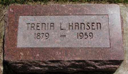 HANSEN, TRENIA L. - Cedar County, Nebraska | TRENIA L. HANSEN - Nebraska Gravestone Photos