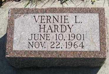 HARDY, VERNIE L. - Cedar County, Nebraska | VERNIE L. HARDY - Nebraska Gravestone Photos