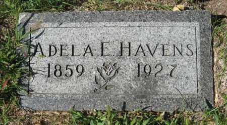 HAVENS, ADELA E. - Cedar County, Nebraska   ADELA E. HAVENS - Nebraska Gravestone Photos