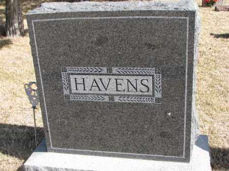 HAVENS, FAMILY STONE - Cedar County, Nebraska | FAMILY STONE HAVENS - Nebraska Gravestone Photos