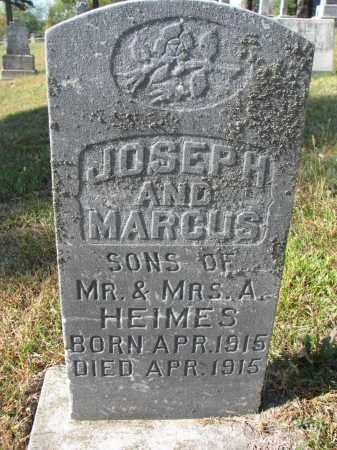 HEIMES, MARCUS - Cedar County, Nebraska | MARCUS HEIMES - Nebraska Gravestone Photos