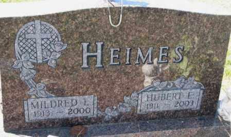 HEIMES, MILDRED L. - Cedar County, Nebraska | MILDRED L. HEIMES - Nebraska Gravestone Photos