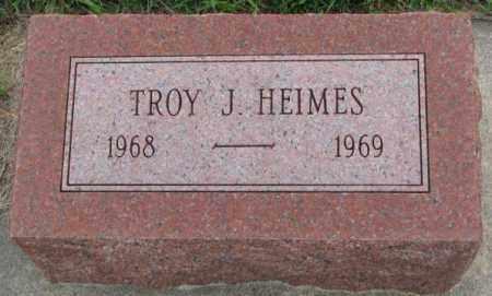 HEIMES, TROY J. - Cedar County, Nebraska | TROY J. HEIMES - Nebraska Gravestone Photos