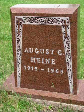 HEINE, AUGUST G. - Cedar County, Nebraska | AUGUST G. HEINE - Nebraska Gravestone Photos