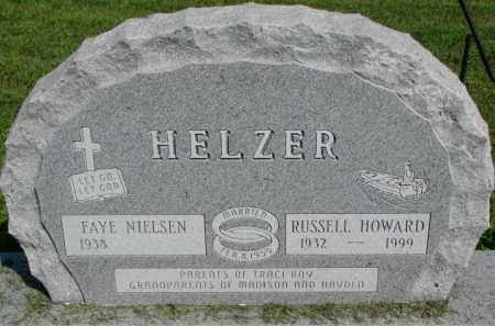 HELZER, RUSSELL HOWARD - Cedar County, Nebraska   RUSSELL HOWARD HELZER - Nebraska Gravestone Photos