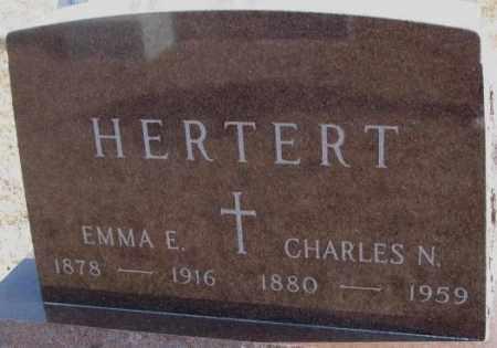 HERTERT, CHARLES N. - Cedar County, Nebraska | CHARLES N. HERTERT - Nebraska Gravestone Photos