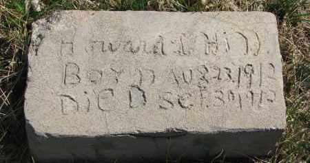 HILL, HOWARD - Cedar County, Nebraska   HOWARD HILL - Nebraska Gravestone Photos