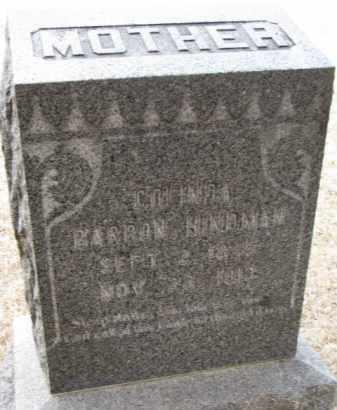 BARRON HINDMAN, COLINDA - Cedar County, Nebraska | COLINDA BARRON HINDMAN - Nebraska Gravestone Photos