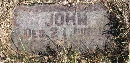 HINDMARSH, JOHN - Cedar County, Nebraska | JOHN HINDMARSH - Nebraska Gravestone Photos