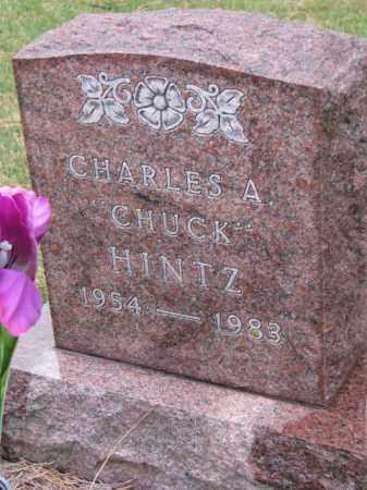"HINTZ, CHARLES A. ""CHUCK"" - Cedar County, Nebraska | CHARLES A. ""CHUCK"" HINTZ - Nebraska Gravestone Photos"
