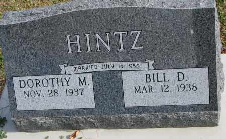 HINTZ, BILL D. - Cedar County, Nebraska | BILL D. HINTZ - Nebraska Gravestone Photos