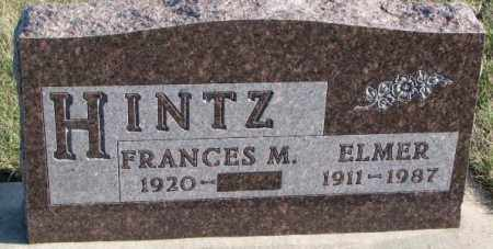 HINTZ, FRANCES M. - Cedar County, Nebraska | FRANCES M. HINTZ - Nebraska Gravestone Photos