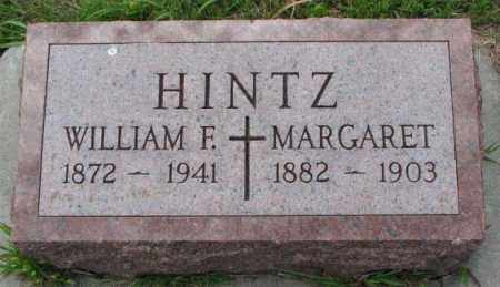 HINTZ, MARGARET - Cedar County, Nebraska | MARGARET HINTZ - Nebraska Gravestone Photos