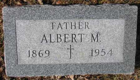 HIRSCHMAN, ALBERT M. - Cedar County, Nebraska | ALBERT M. HIRSCHMAN - Nebraska Gravestone Photos