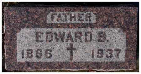HIRSCHMAN, EDWARD B. - Cedar County, Nebraska   EDWARD B. HIRSCHMAN - Nebraska Gravestone Photos