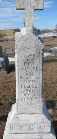 HIRSCHMAN, EVA - Cedar County, Nebraska | EVA HIRSCHMAN - Nebraska Gravestone Photos