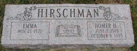 HIRSCHMAN, HOMER H. - Cedar County, Nebraska | HOMER H. HIRSCHMAN - Nebraska Gravestone Photos