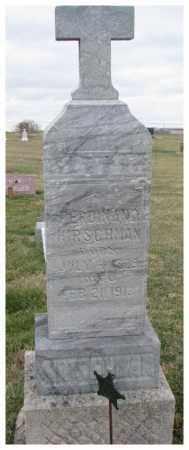 HIRSCHMAN, FERDINAND - Cedar County, Nebraska | FERDINAND HIRSCHMAN - Nebraska Gravestone Photos