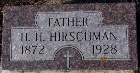HIRSCHMAN, H.H. - Cedar County, Nebraska | H.H. HIRSCHMAN - Nebraska Gravestone Photos