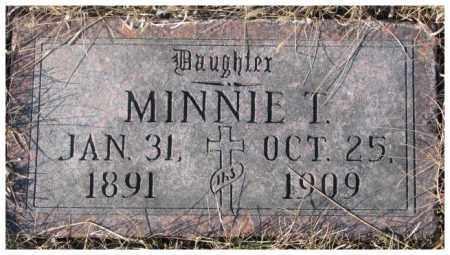 HIRSCHMAN, MINNIE T. - Cedar County, Nebraska | MINNIE T. HIRSCHMAN - Nebraska Gravestone Photos