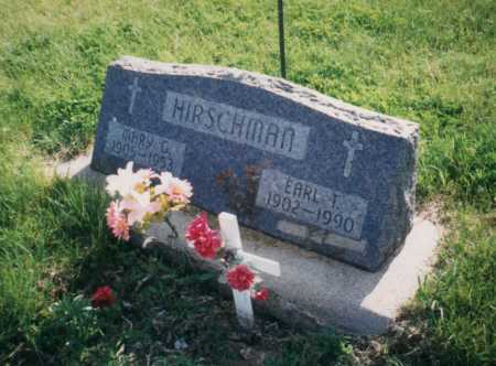 MCFADDEN HIRSCHMAN, MARY - Cedar County, Nebraska | MARY MCFADDEN HIRSCHMAN - Nebraska Gravestone Photos