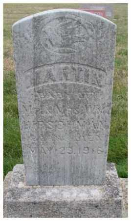 HIRSCHMAN, MARTIN - Cedar County, Nebraska | MARTIN HIRSCHMAN - Nebraska Gravestone Photos
