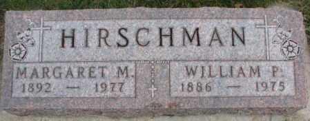 HIRSCHMAN, WILLIAM P. - Cedar County, Nebraska | WILLIAM P. HIRSCHMAN - Nebraska Gravestone Photos