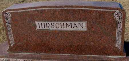 HIRSCHMAN, PLOT - Cedar County, Nebraska | PLOT HIRSCHMAN - Nebraska Gravestone Photos