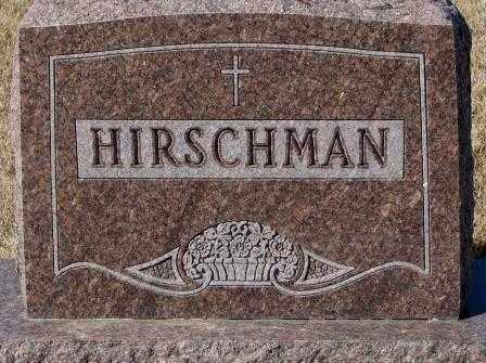 HIRSCHMAN, PLOT - Cedar County, Nebraska   PLOT HIRSCHMAN - Nebraska Gravestone Photos