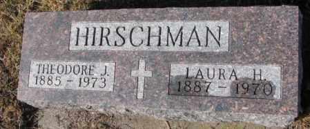 HIRSCHMAN, LAURA H. - Cedar County, Nebraska   LAURA H. HIRSCHMAN - Nebraska Gravestone Photos