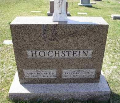 HOCHSTEIN, FRANK - Cedar County, Nebraska | FRANK HOCHSTEIN - Nebraska Gravestone Photos