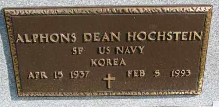 HOCHSTEIN, ALPHONS DEAN (MILITARY) - Cedar County, Nebraska | ALPHONS DEAN (MILITARY) HOCHSTEIN - Nebraska Gravestone Photos