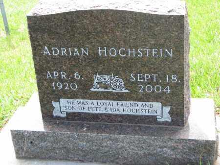 HOCHSTEIN, ADRIAN - Cedar County, Nebraska   ADRIAN HOCHSTEIN - Nebraska Gravestone Photos