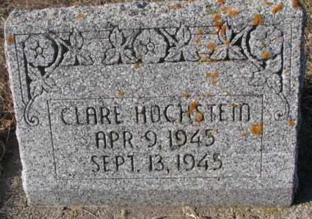 HOCHSTEIN, CLARE - Cedar County, Nebraska | CLARE HOCHSTEIN - Nebraska Gravestone Photos