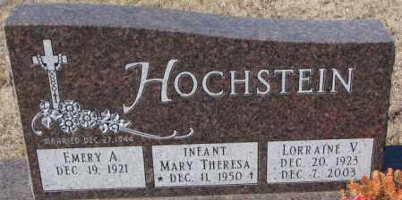 HOCHSTEIN, EMERY A. - Cedar County, Nebraska | EMERY A. HOCHSTEIN - Nebraska Gravestone Photos