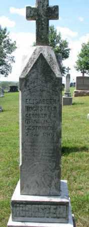 HOCHSTEIN, ELISABETH - Cedar County, Nebraska | ELISABETH HOCHSTEIN - Nebraska Gravestone Photos
