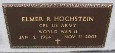 HOCHSTEIN, ELMER R. (WW II MARKER) - Cedar County, Nebraska | ELMER R. (WW II MARKER) HOCHSTEIN - Nebraska Gravestone Photos