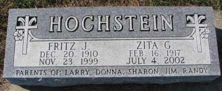 HOCHSTEIN, FRITZ J. - Cedar County, Nebraska   FRITZ J. HOCHSTEIN - Nebraska Gravestone Photos
