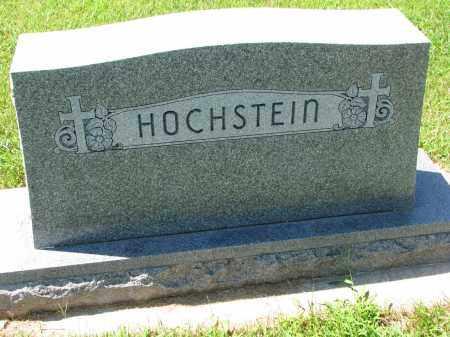 HOCHSTEIN, FAMILY STONE - Cedar County, Nebraska | FAMILY STONE HOCHSTEIN - Nebraska Gravestone Photos