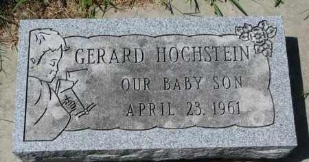 HOCHSTEIN, GERALD - Cedar County, Nebraska | GERALD HOCHSTEIN - Nebraska Gravestone Photos